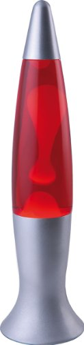 Heitronic Lavalampe Sumi – (Gelb/Rot)