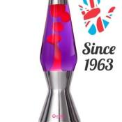 Astro Lavalampe Violett Rot das Original