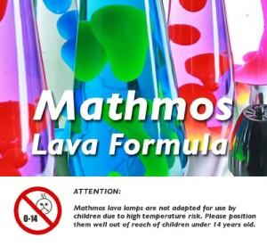 Mathmos Lava Formula