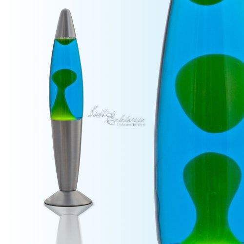Kompakte Lavalampe in (Blau/Grün) LA558701 Magmalampe