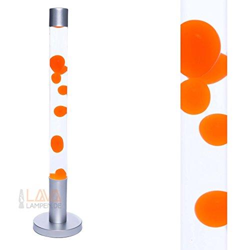 XXL Lavalampe 76cm (Orange/Klar)