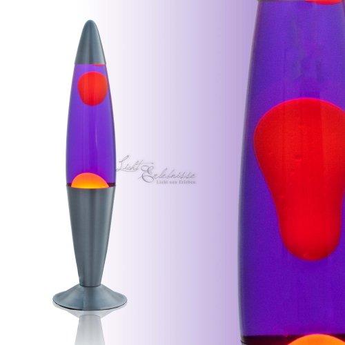 Kinder-Lavaleuchte 1-flammig Lollipop (Orange/Lila)