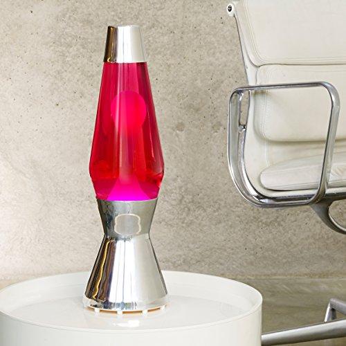mathmos astro lavalampe das original rot pink. Black Bedroom Furniture Sets. Home Design Ideas